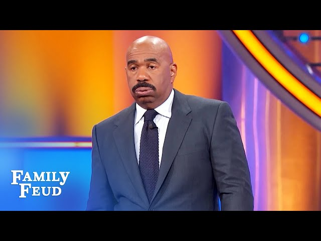 Is Casey's show-stopping answer on the board?! | Family Feud
