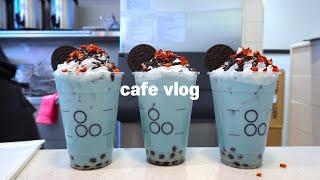 Sub)cafevlog,🍪오레오는 거꾸로해도 오레오🍪,카페브이로그,최블리,ASMR