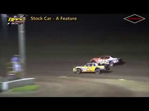 Stock Car Feature - Rapid Speedway - 6/29/18