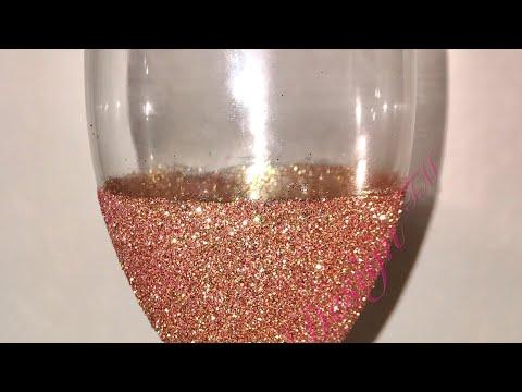Glitter Epoxy Wine Glass