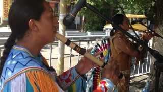 Индейцы с Эквадора в Нальчике
