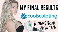 MY COOLSCULPTING RESULTS: AFTER PHOTOS & YOUR QUESTIONS ANSWERED