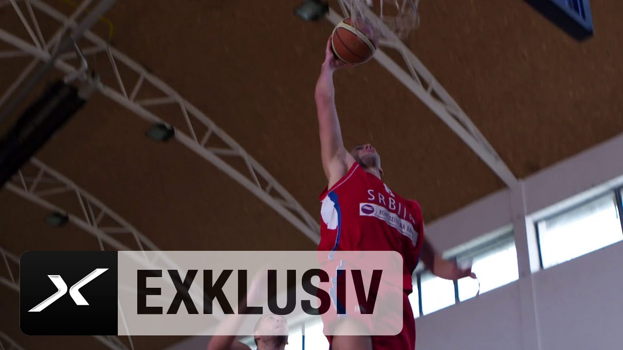 Serbien Basketball