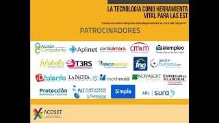 Conozca los Patrocinadores del Foro Acoset 2017