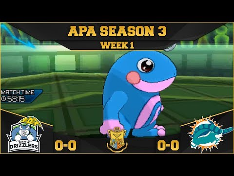 MY FIRST LEAGUE MATCH EVER! Seattle Drizzlers vs Miami Donphans APA S3 W1