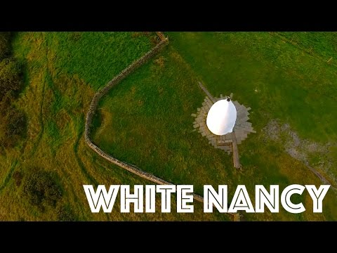 008 White Nancy, Bollington, Cheshire - Drone Flyover 4k