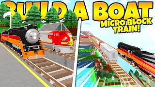 WORKING TRAIN TO THE END! Build a Boat