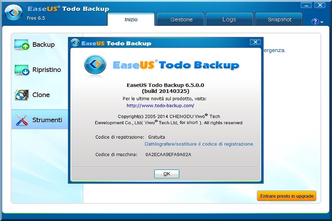 EASEUS TODO FREE 6.5 BACKUP TÉLÉCHARGER