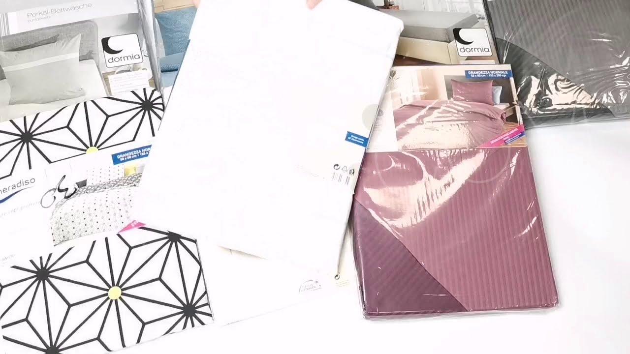 thumbnail video Постельное белье, полотенца оптом ALDI (Tukan, Dormia) 20 кг * 7,9 €/кг лот #1605