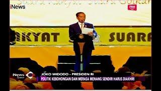 Jokowi Singung Politik Kebohongan dan Rasa Ingin Menang Sendiri - iNews Sore 22/10