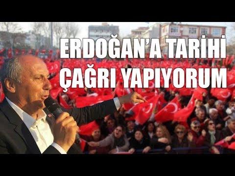 Muharrem İnce'den Erdoğan'a tarihi...