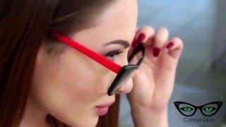 Стильные оправы Cat Eye очки Кошачий глаз  купить в России