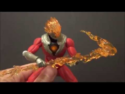 USED ULTRA-ACT Ultraman Zero GLEN FIRE FIgure BANDAI TAMASHII NATIONS Japan