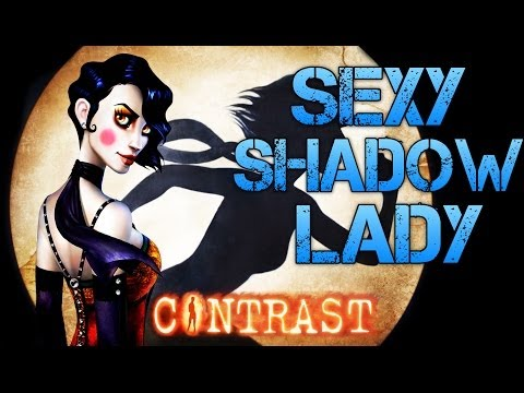 Contrast  SEXY SHADOW LADY  Clever Indie Game