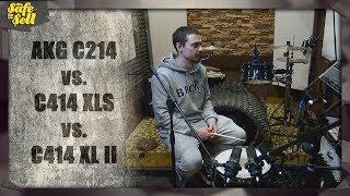 AKG C214 vs.  C414 XLS vs.  C414 XL II