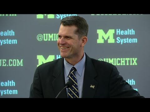 Jim Harbaugh Introductory Press Conference