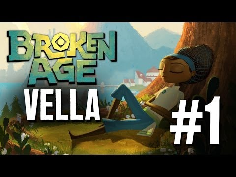 Broken Age Gameplay Walkthrough Part 1 - Vella - Please Don't Eat Me