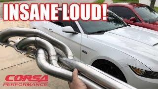 Made the Whipple S550 as LOUD as Possible!! Corsa Longtubes Corsa Xtreme Catback