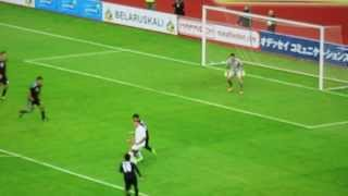 【速報】日本対ベラルーシ 0-1で負ける ダイジェスト!代表サッカープレー