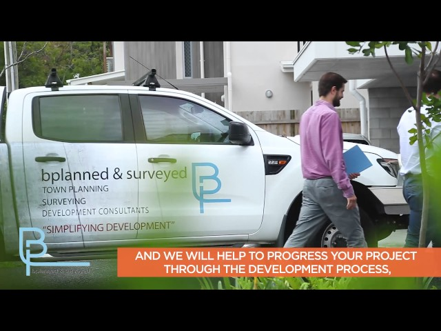 Introduction to Town Planning & Surveying services at bplanned & surveyed, Brisbane