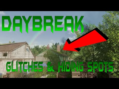 DayBreak | Best Glitches & Hiding Spots | MWR