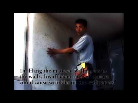 Wallpaper Installation, Cara Pasang Wallpaper Dinding, How To Hang Wallpaper On Wall