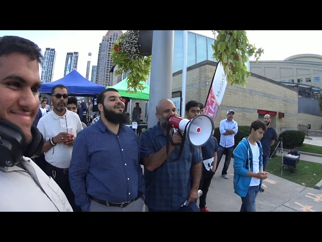 Muslims try to stop the preaching of the Gospel