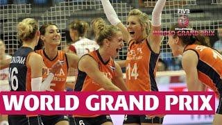 World Grand Prix: Netherlands v Czech Republic Highlights
