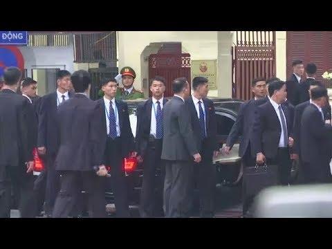 North Korean leader Kim Jong Un visits the North Korean Embassy | VTV24