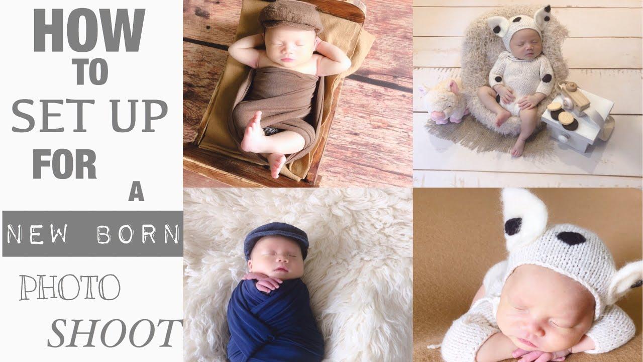 Vlog | Lần Đầu Chụp Ảnh của  Bé TinTin tại Nhà ☆ How To Photograph a Newborn Baby Boy | Hannah Lee