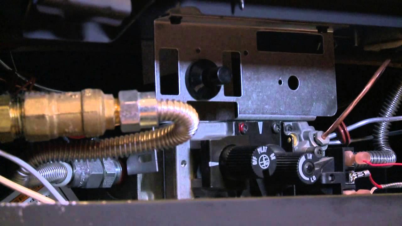 relighting your heatilator standing pilot fireplace video heatilator wiring diagram [ 1280 x 720 Pixel ]