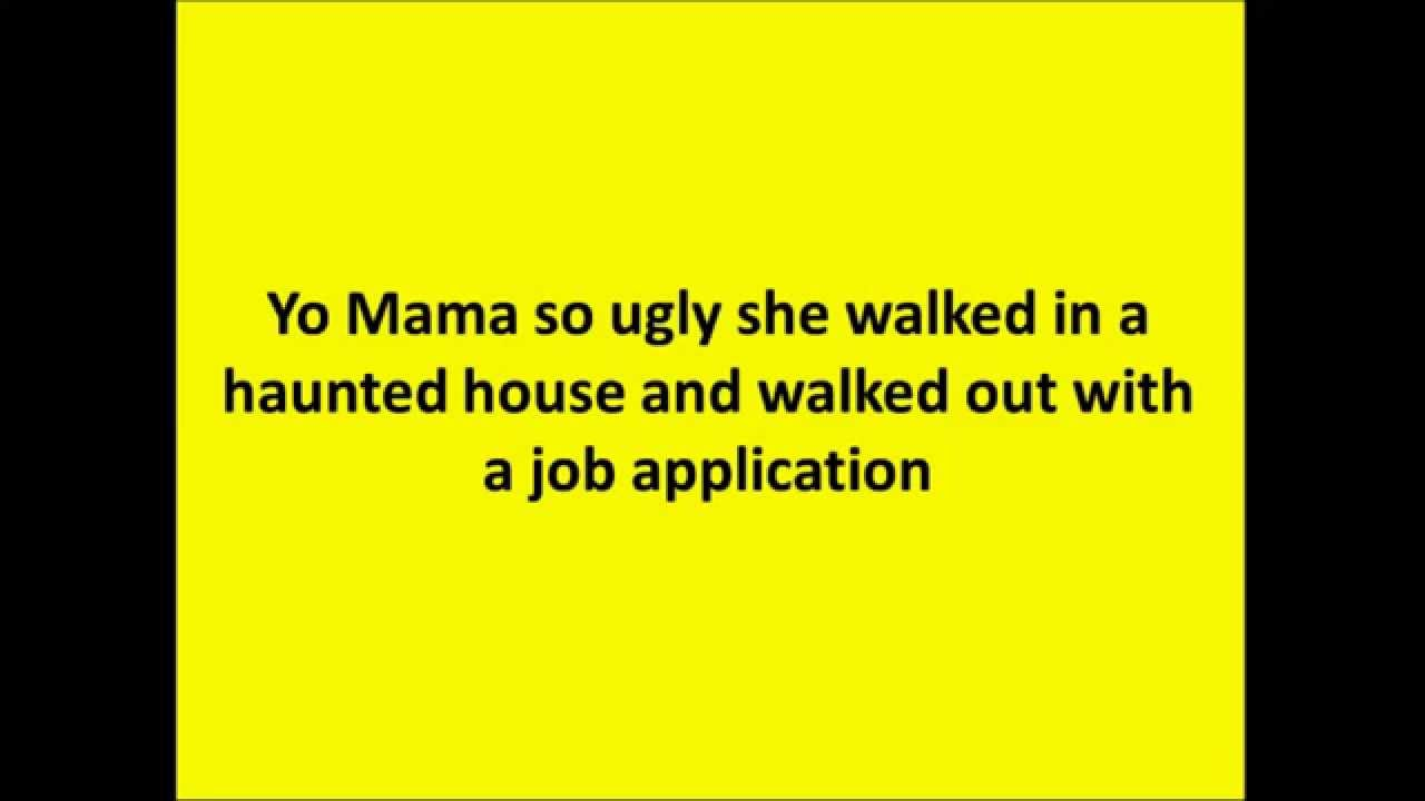Yo mama jokes funny as hell