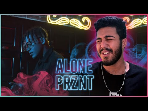 Prznt - ALONE (Official Music Video) (Reaction)