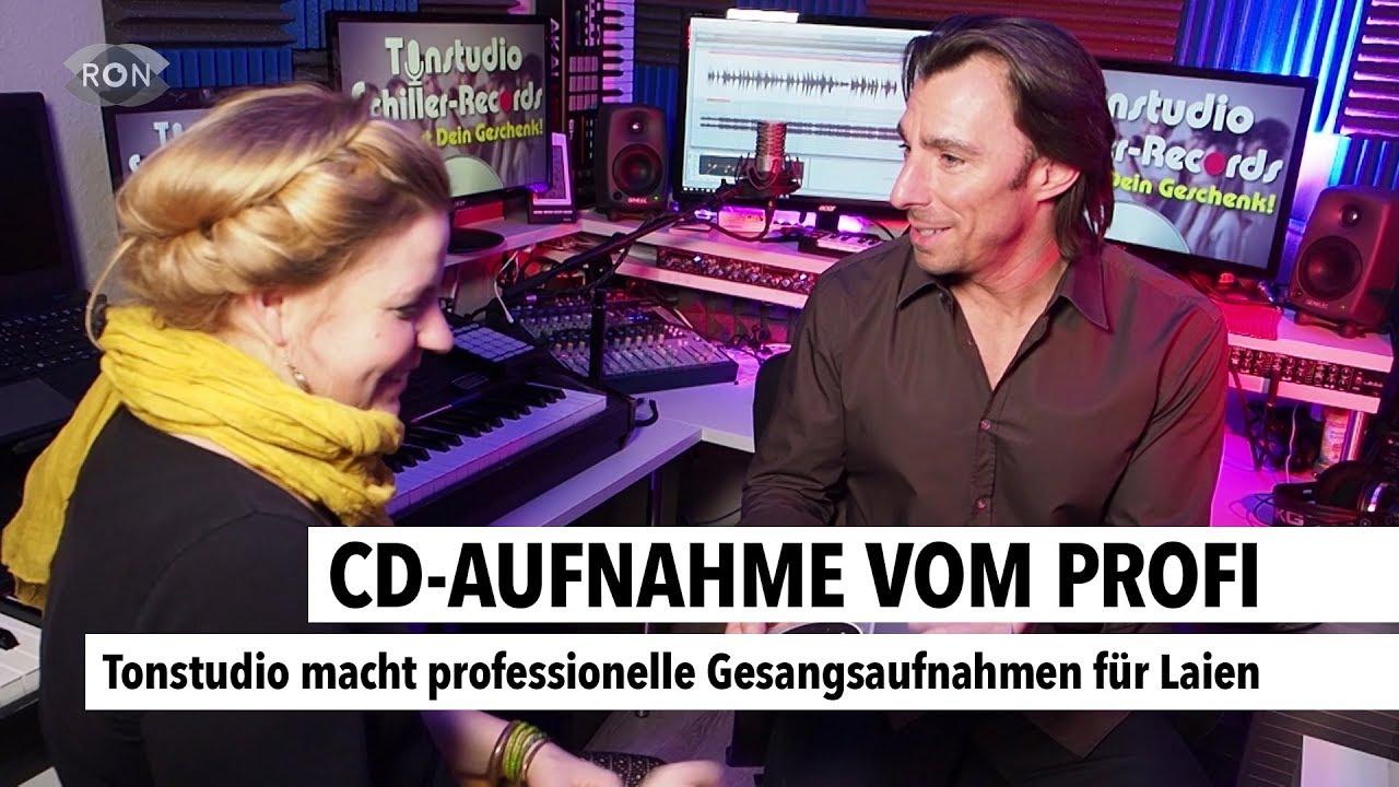 Cd Aufnahme Vom Profi Ron Tv