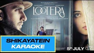 Bollywood Karaoke - Shikayatein - Lootera Movie
