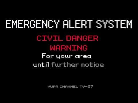 Emergency Alert System- Extraterrestrial Activity