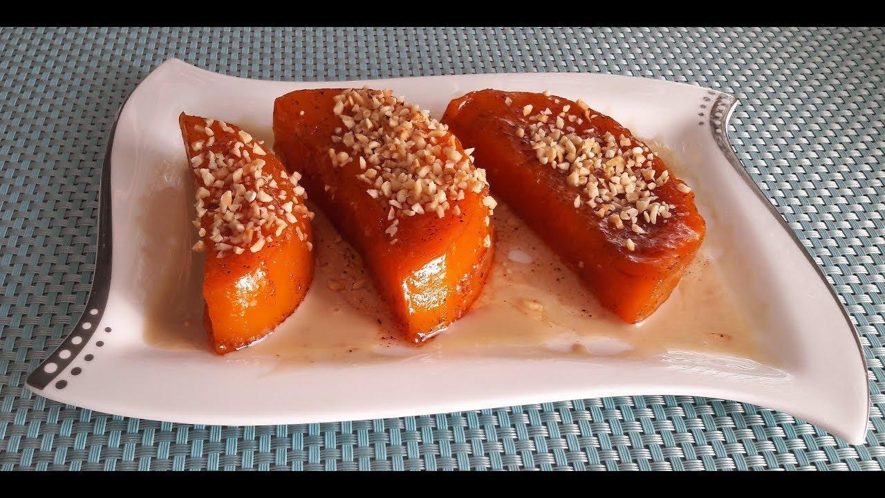 Тыква запеченная в духовке / Сладкая тыква по-турецки /  Sweet pumpkin in Turkish