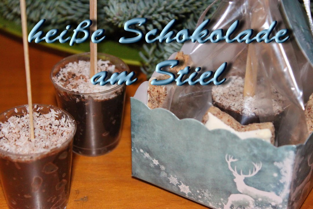 trinkschokolade am stiel diy geschenke zu weihnachten. Black Bedroom Furniture Sets. Home Design Ideas