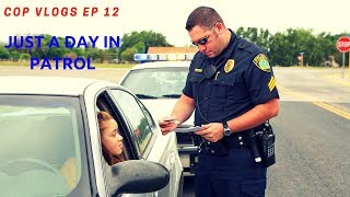 COP VLOGS EP 12 | A DAY IN PATROL POLICE RIDE ALONG