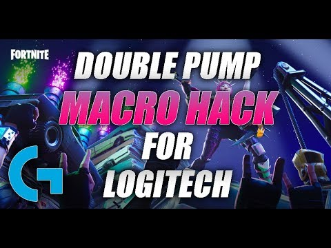 FORTNITE DOUBLE PUMP MACRO FOR LOGITECH(WORKS IN SEASON 4)