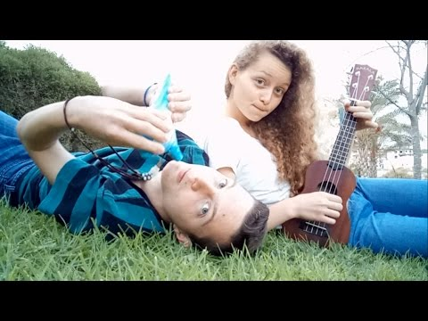 Gravity Falls theme - Ocarina & Ukulele cover (ft. My sister)
