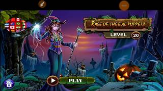 Sinister Tales Halloween 2018 Rage Of The Evil Puppets Level 20 Walkthrough HFG ENA