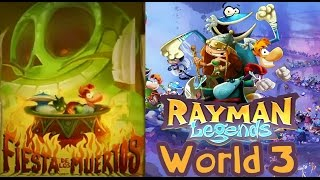 Rayman Legends - World 3: Fiesta de los Muertos (3 players)