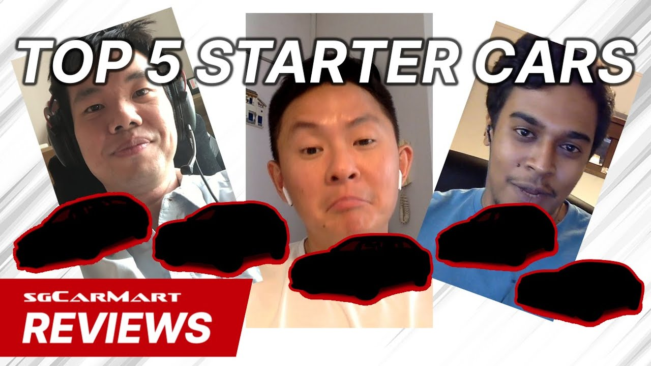 Top 5 Cars For First Time Buyers The Circuit Breaker Show Sgcarmart Reviews Youtube