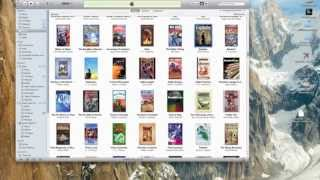 Import ePub books to iTunes
