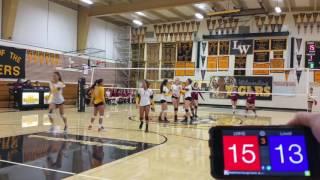 LWHS vs Lowell - Set 3