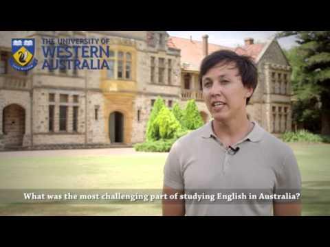 UWA CELT Student Testimonial: Denis Lishmanov (Azerbaijan)