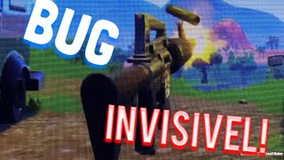 BUG/INVISIBILITY GLITCH, HOW TO BE INVISIBLE AT FORTNITE: BATTLE ROYALE.. RUN, THEY'RE GOING TO TAKE!