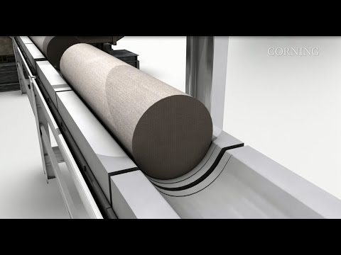 Corning's Extrusion Manufacturing Process