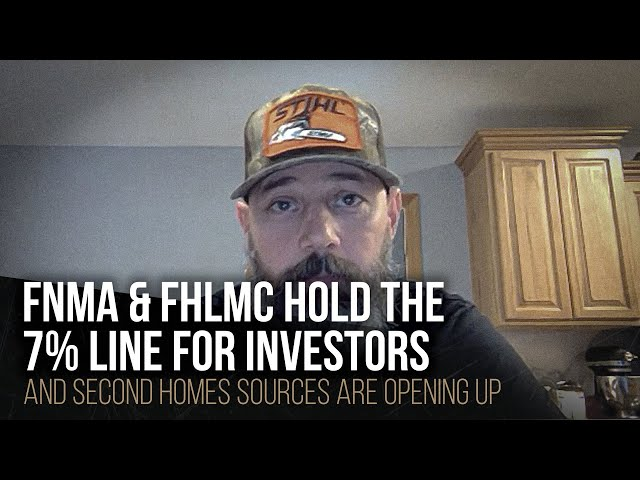 FNMA & FHLMC hold the 7% line for investors
